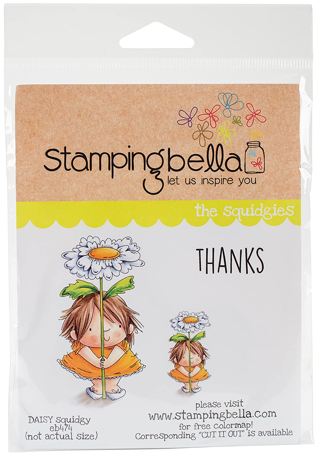 Stamping Bella EB474 Cling Daisy Squidgy