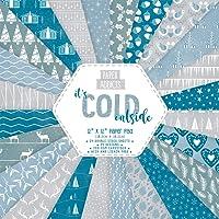 papierauflage Weihnachten Paper Addicts It's Cold Outside 12x12