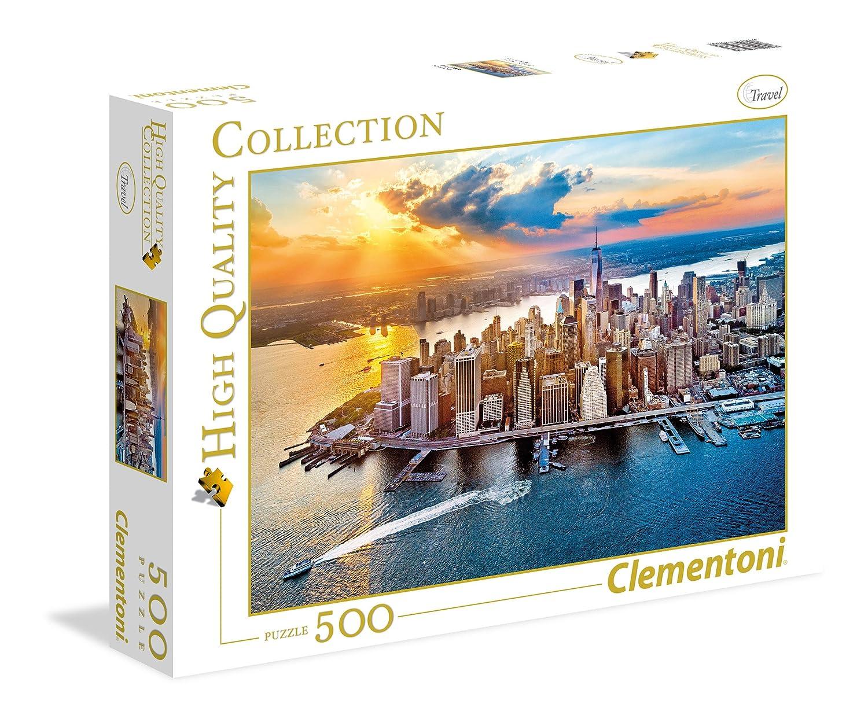 Clementoni - Puzzle 500 Piezas New York (35038)