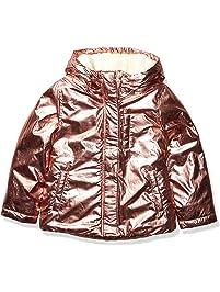 Spotted Zebra Girl's Toddler & Kid's Warm Puffer Coat