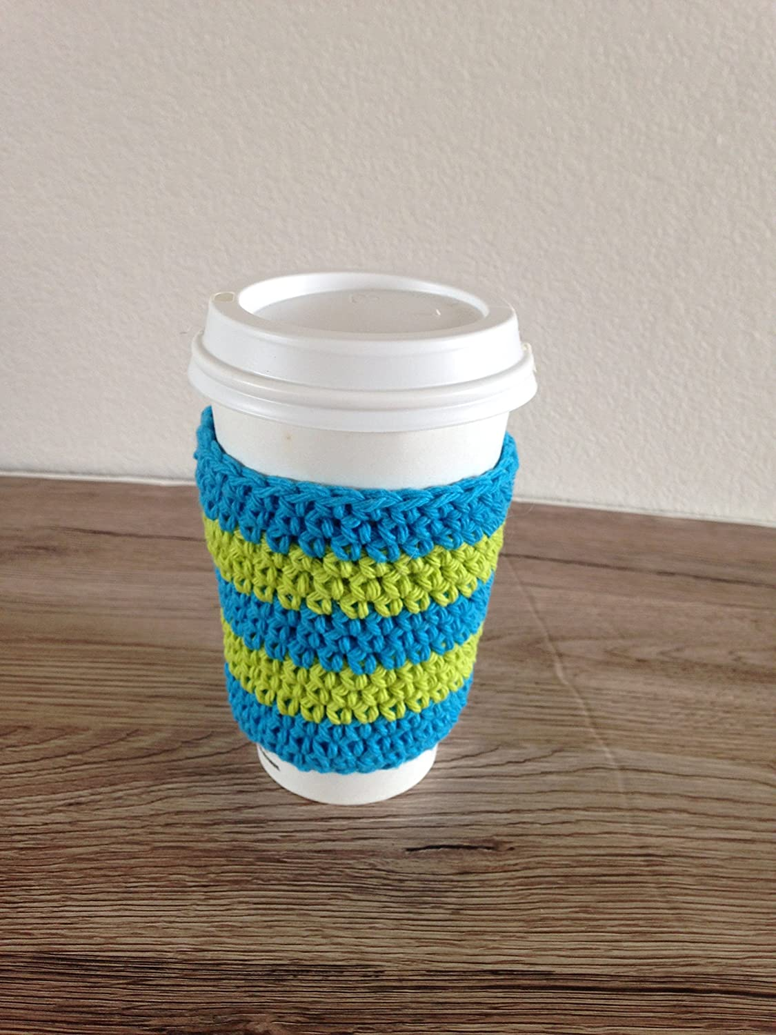Amazon Crochet Cup Cozy Coffee Cup Sleeve Reusable Coffee