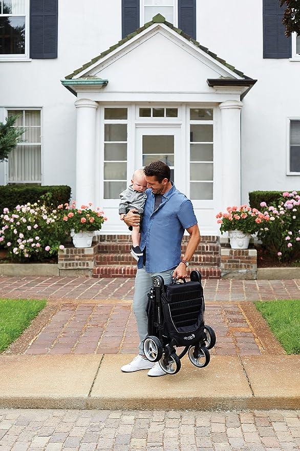 Baby Jogger City Mini 4 - Silla de paseo, color negro: Amazon.es: Bebé