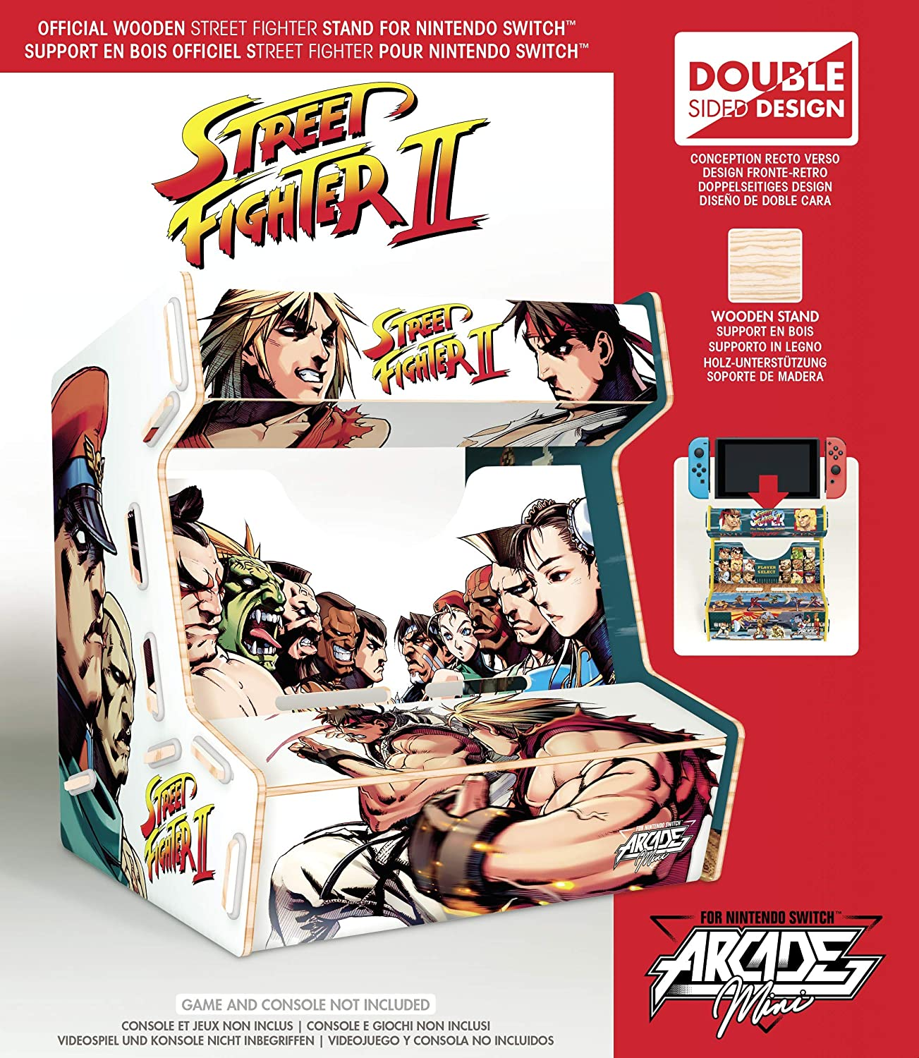 Meridiem Games - Street Fighter Arcade Mini (Nintendo Switch): Amazon.es: Videojuegos
