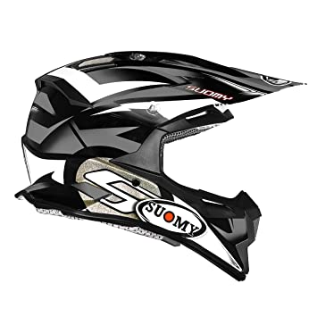 Suomy Alpha Bike Casco para Motocross, Gris, L