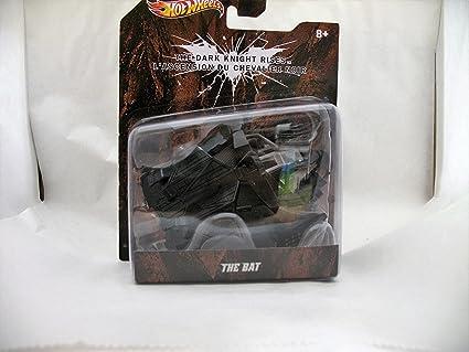 Amazon.com : Hot Wheels 2011 The Dark Knight Rises The Bat ...