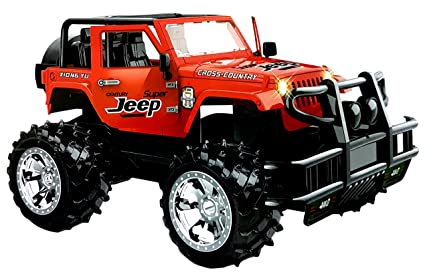 Buy Toyshine Remote Control Jeep Car Toy Red Online At Low Prices