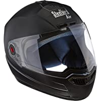 Steelbird SBA-1 Classic Black with Plain Visor,600 mm