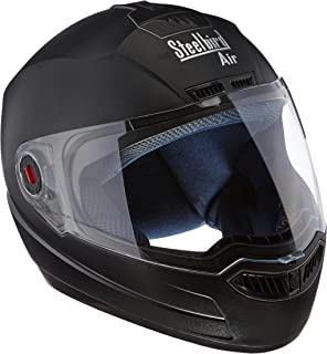 e6d6d09c7 Steelbird Air SBA-1 Matte Full Face Helmet (Black