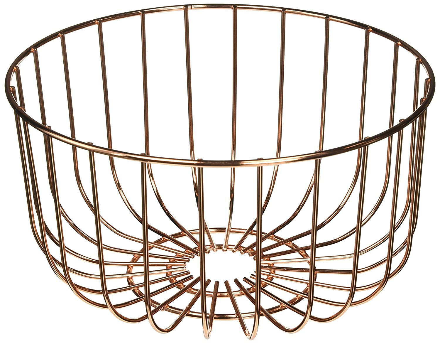 Torre & Tagus 910628A Symmetry Fruit Bowl, Short, Rose Gold Torre & Taugus