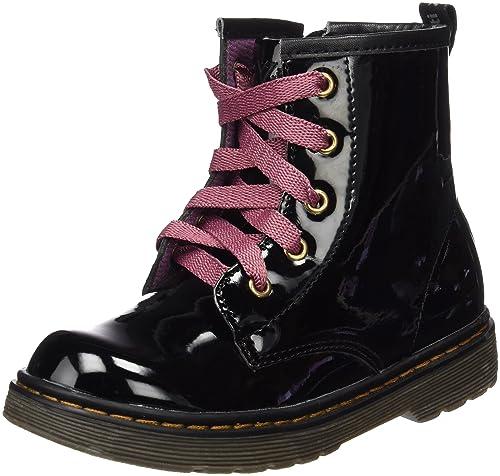 XTI Botin Niña Charol 54014 - Botas para niñas, color Negro (NEGRO), talla 34: Amazon.es: Zapatos y complementos