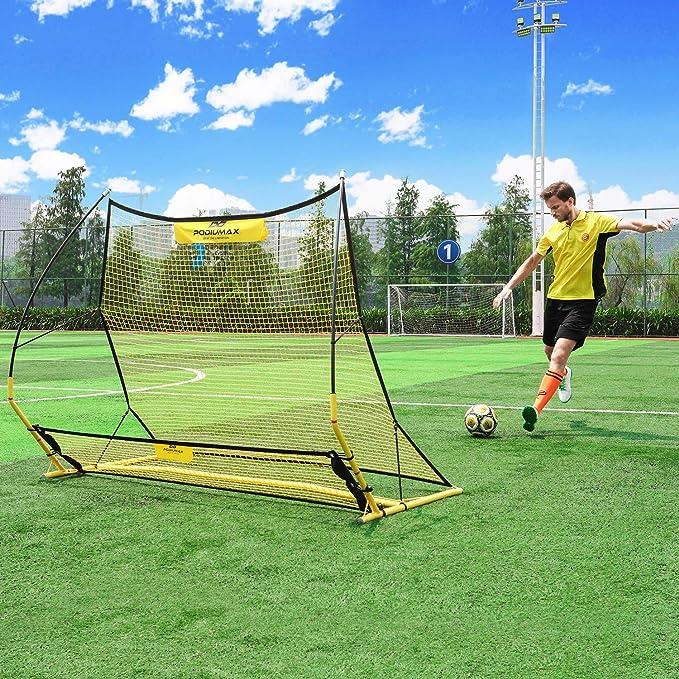 PodiuMax Red de entrenamiento de rebote de fútbol portátil 2 ...