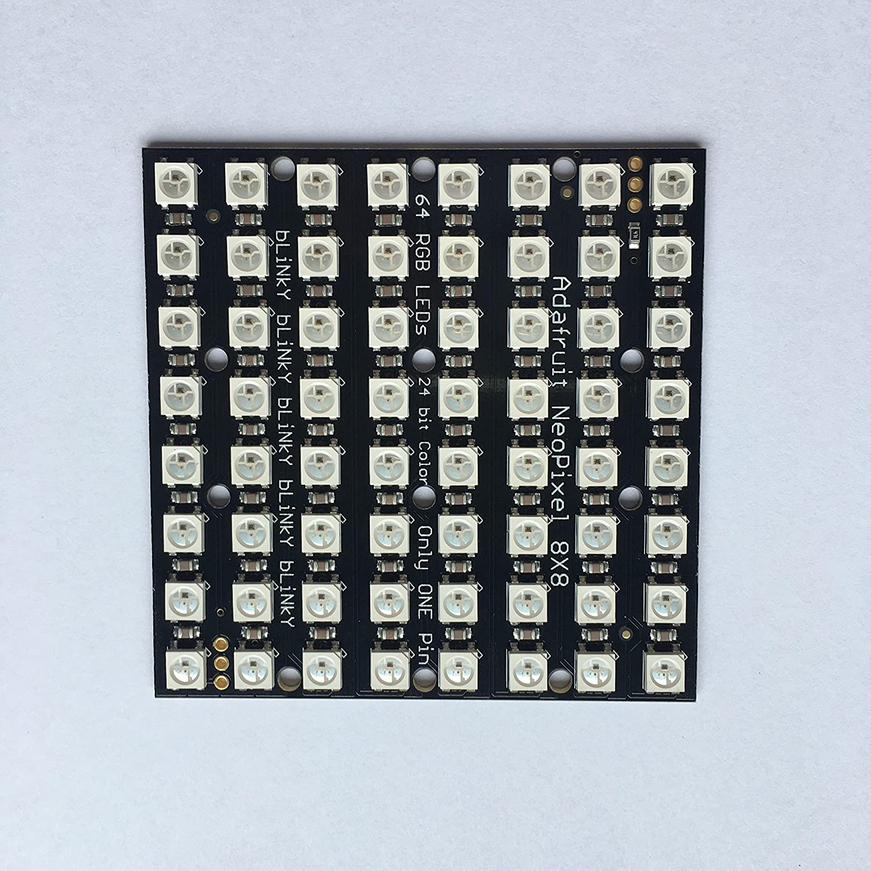 Adafruit NeoPixel NeoMatrix 8x8-64 RGB LED Pixel Matrix [ADA1487] on