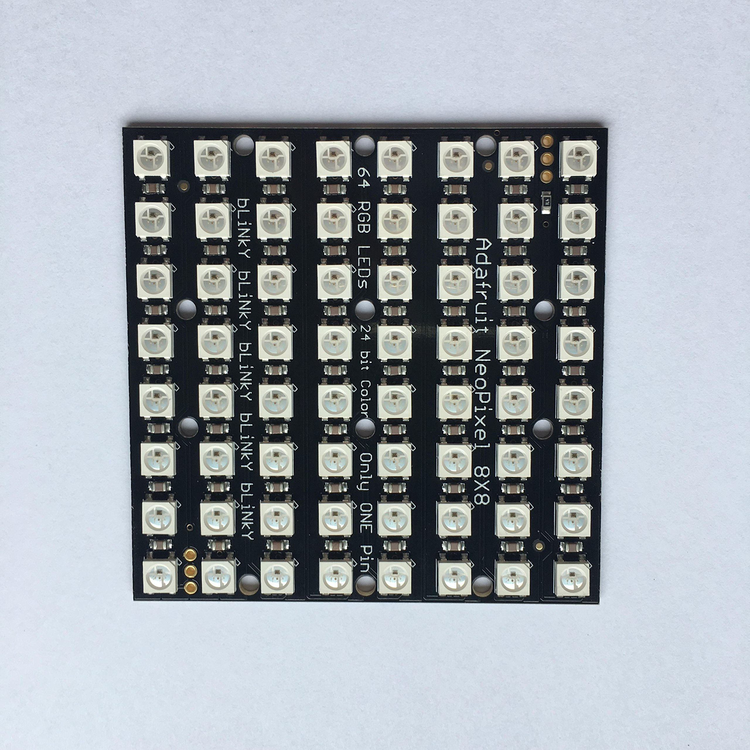 Adafruit NeoPixel NeoMatrix 8x8-64 RGB LED Pixel Matrix [ADA
