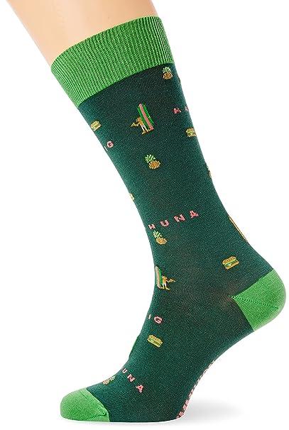 Jimmy Lion Big Kahuna, Calcetines para Hombre, Verde (Green), 41-46: Amazon.es: Ropa y accesorios