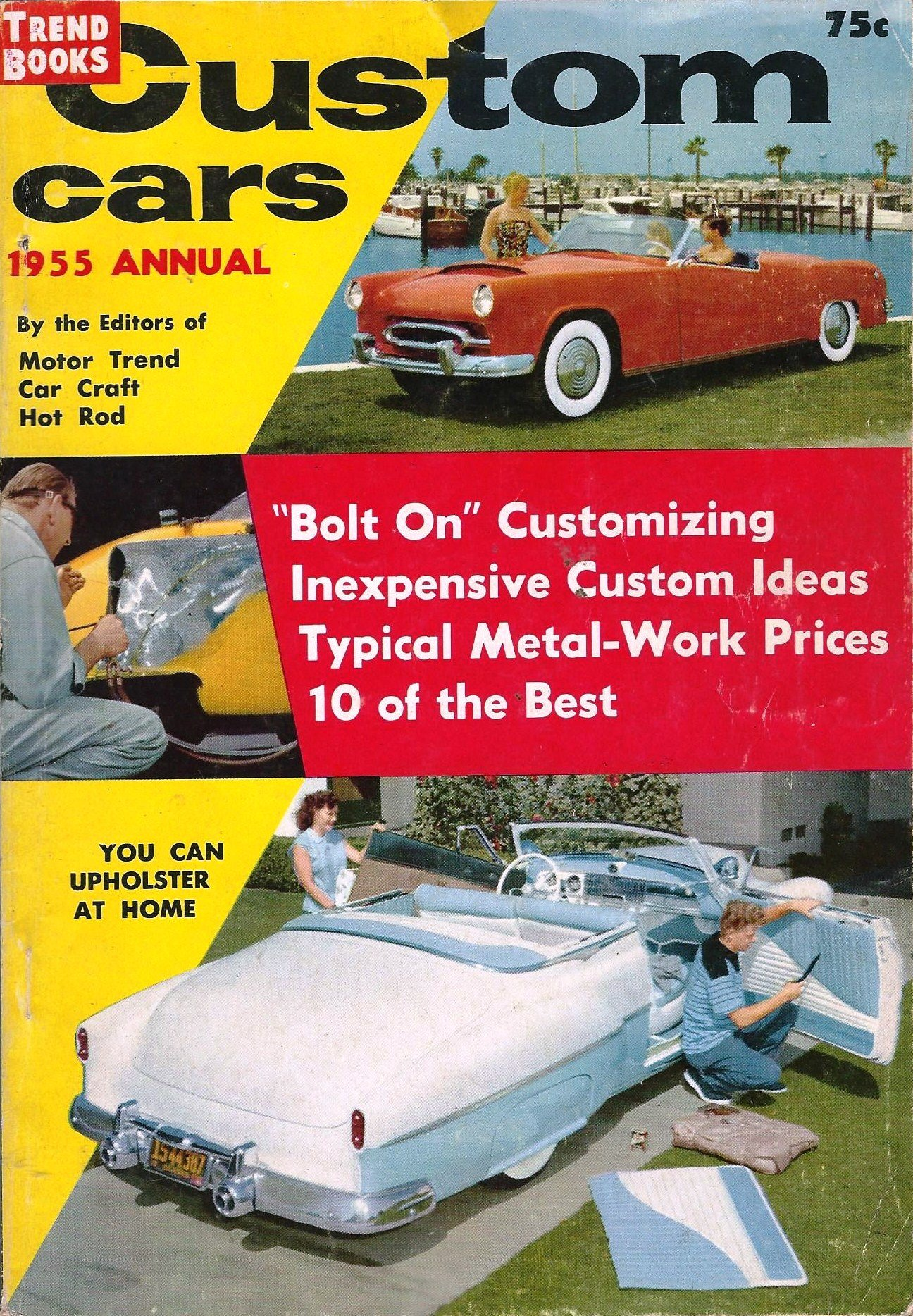 Custom Cars 1955 Annual Trend Books 116 Custom Cars 1955 Annual