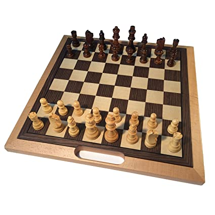 c3b9b653 Image Unavailable. Image not available for. Color: WE Games Classic Folding  Chess ...