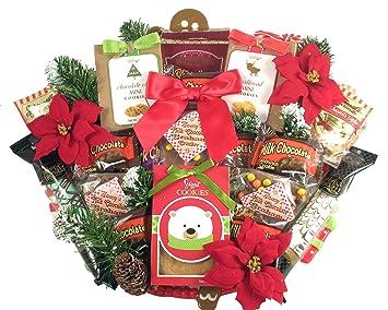 Amazon.com : Gift Basket Village Deluxe Christmas Cookie Platter, 8 ...
