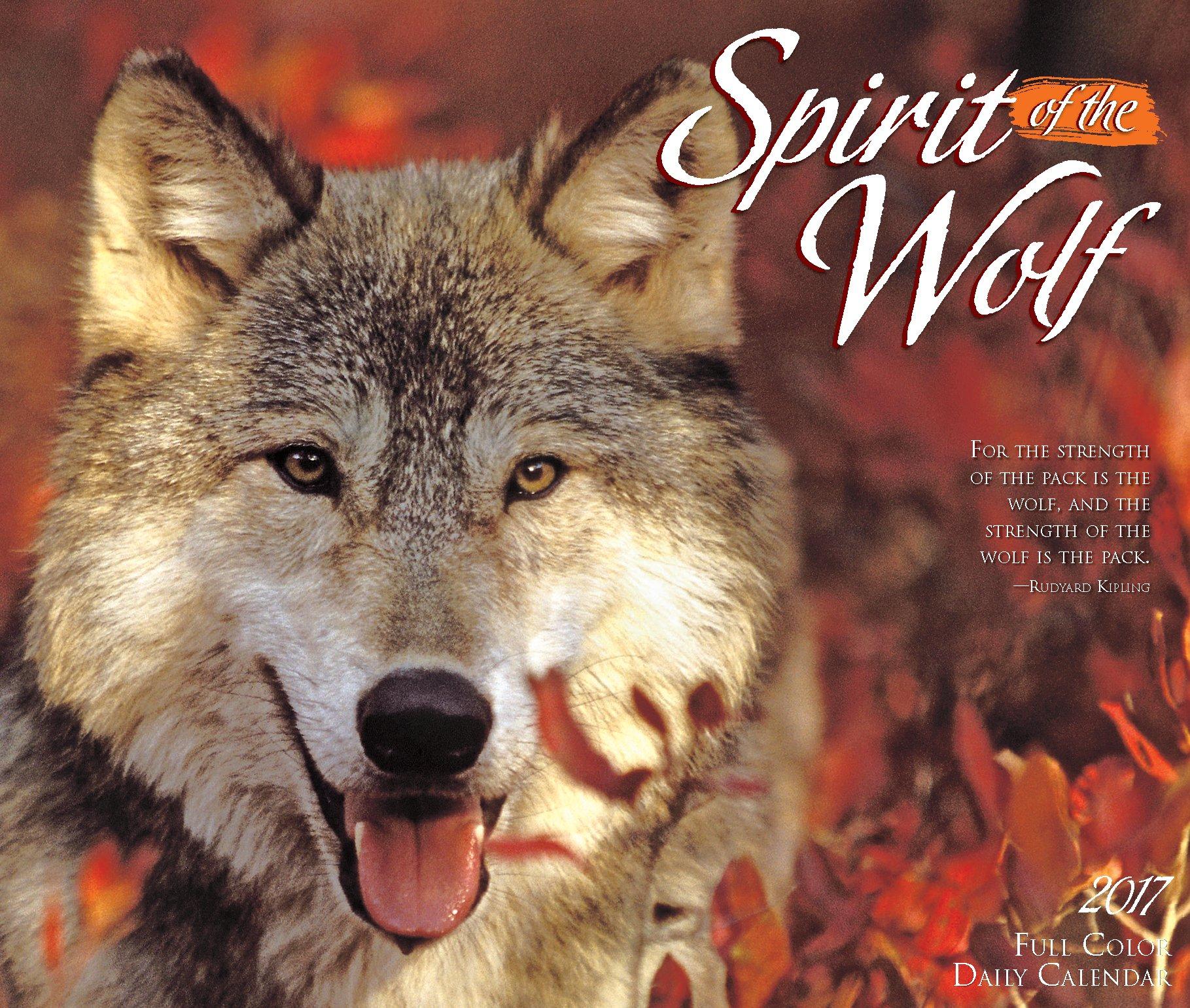 Download Spirit of the Wolf 2017 Box Calendar ebook