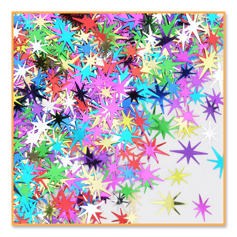 Mc Starbursts Confetti (Pack of 12)