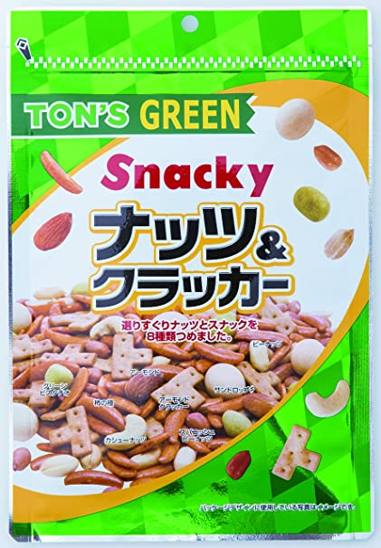 東洋ナッツ グリーンミックスナッツ 190g×10袋