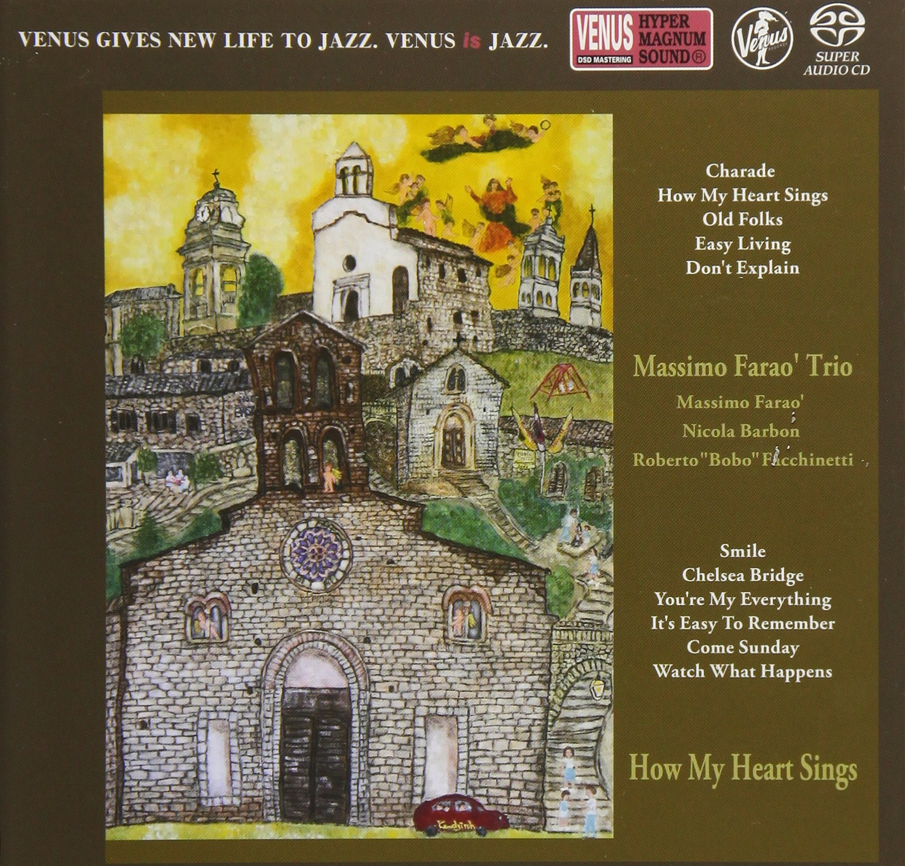 SACD : Massimo Farao - How My Heart Sings (Japan - Import)