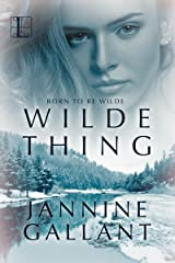 Wilde Thing (Born to Be Wilde Book 3) Kindle Edition