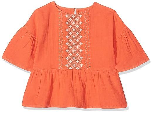1a51abe7d Carrément Beau Y15206, Blusa para Niñas, Naranja (Mandarin 402), 8 ...