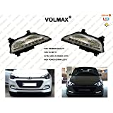Volmax Hyundai I20 Elite Fog Lights With Led Drl(Day Time Running Lights)