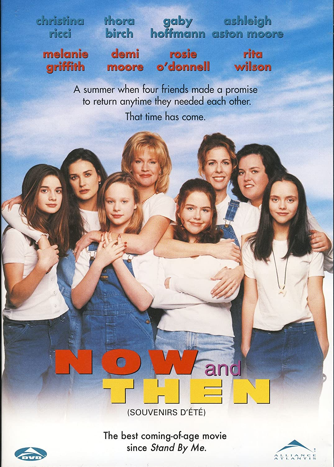 """Now and Then"" movie poster, one of our favorite movies that explores female relationships!"
