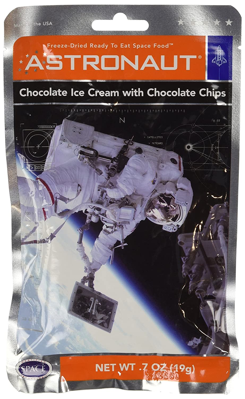 Astronaut Chocolate Ice Cream with Chocolate Chips 0.7oz