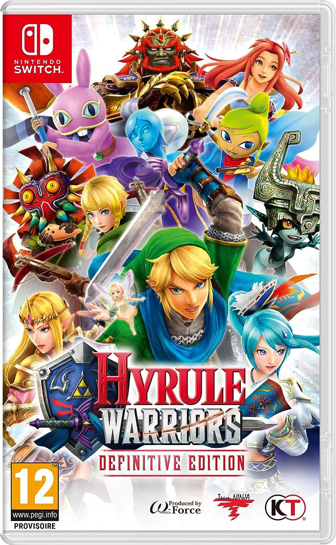 Hyrule Warriors: Definitive Edition - Nintendo Switch [Importación francesa]