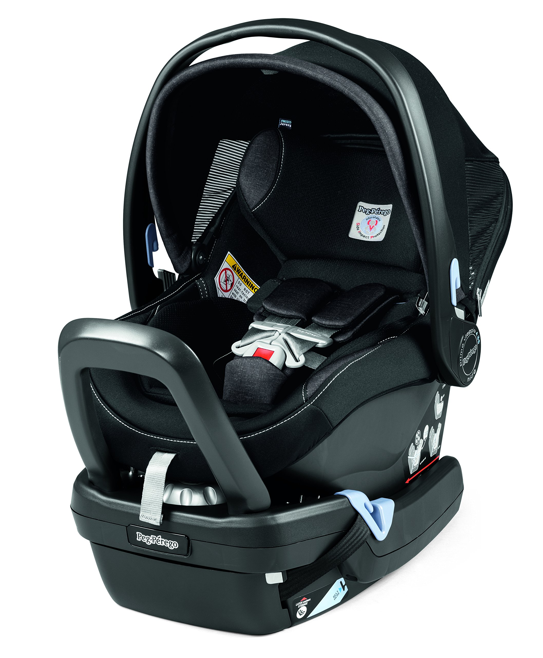 peg perego primo viaggio nido car seat base with load leg black baby. Black Bedroom Furniture Sets. Home Design Ideas