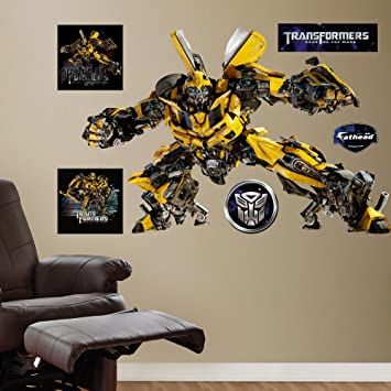 Amazon.com: FATHEAD Bumblebee Graphic Wall Décor: Home & Kitchen