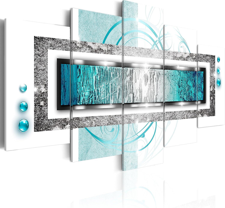 YUANJUN Puzzle 5 TLG Kunstdruck Modern Wandbilder Design Tapete Eingerahmt Bilder Drucke Leinwand Wandkunst Wohnkultur Gem?Lde Poster Mehrteilig XXL Motocross-Auto