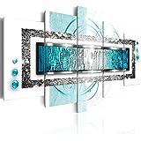 murando - Impression sur toile - 200x100 cm cm - 5 pieces - Image sur toile - Images - Photo - Tableau - motif moderne - Décoration - tendu sur chassis - abstraction abstrait a-A-0003-b-o