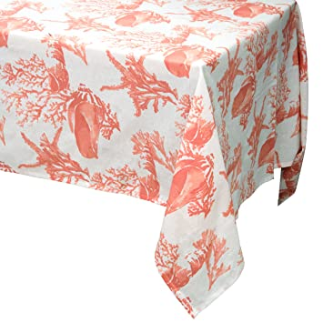 Beautiful Rectangular Tablecloth 60 In. 102 In.   Raymond Waites Premium Linen  Rectangular Table Cloth