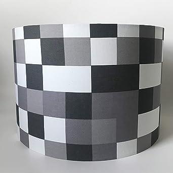 Pantalla para lámpara de techo o de mesa, diseño cuadrado, 30 cm ...