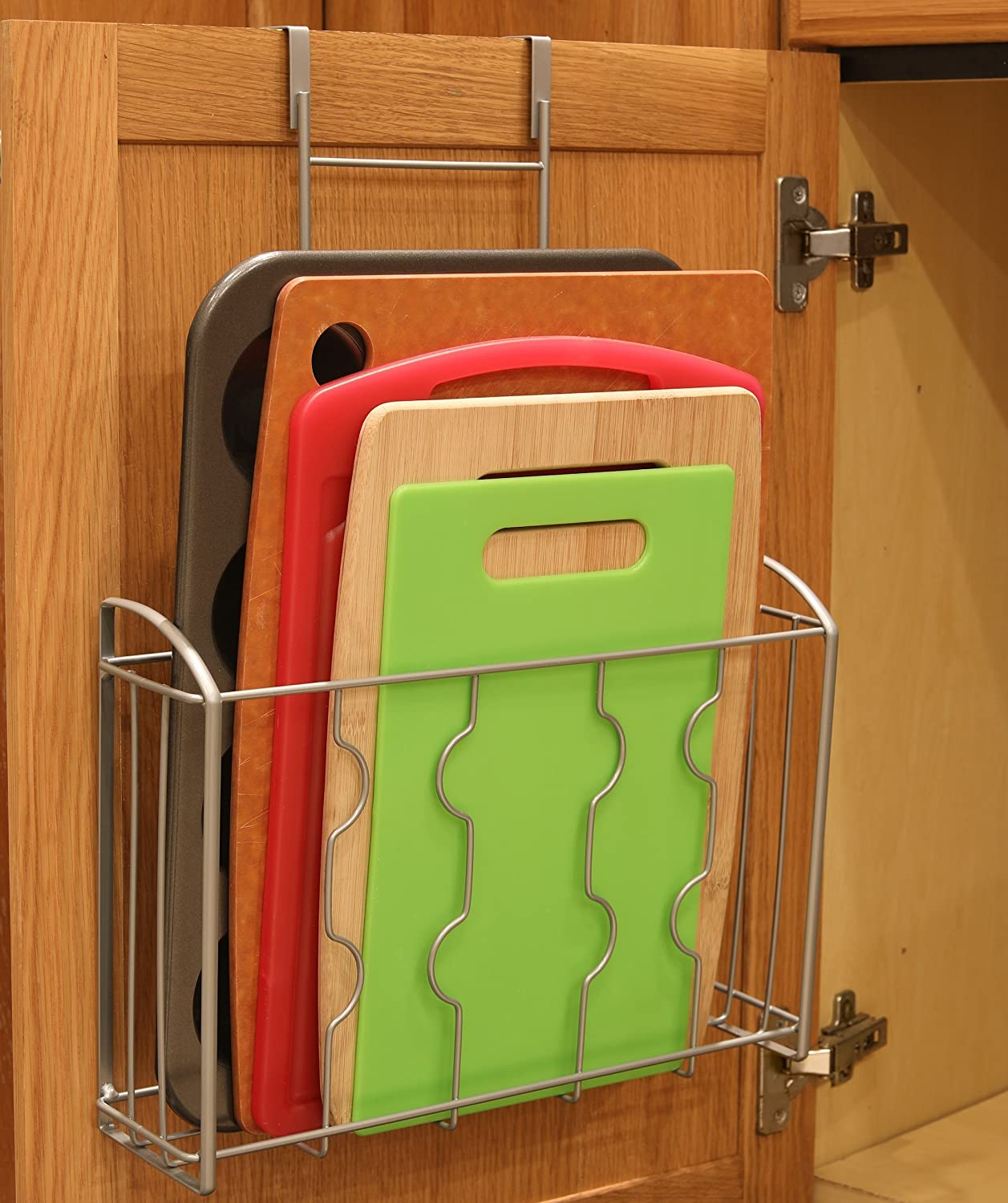 Amazon Simplehouseware Over The Cabinet Door Organizer Holder