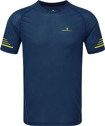 Ronhill Mens Stride tee - Camiseta Térmica para Hombre Hombre: Amazon.es: Ropa y accesorios