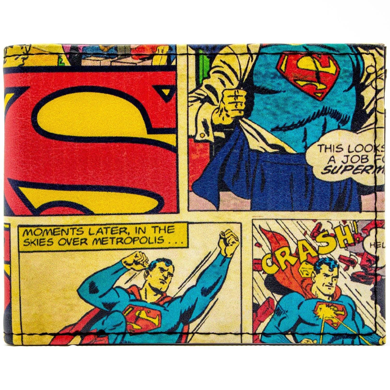 DC Comics Superman Comic Themed rouge Portefeuille