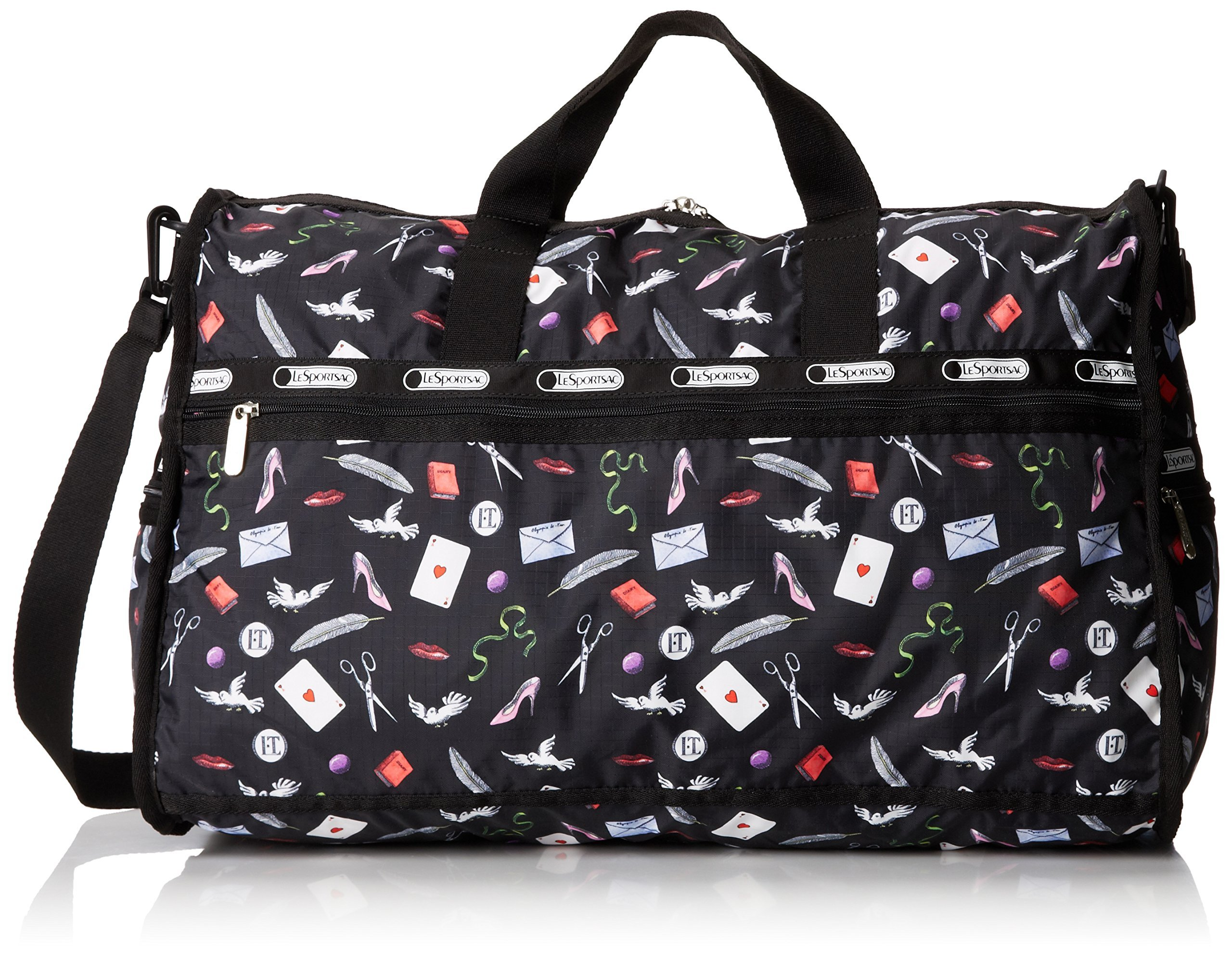LeSportsac Large Weekender Bag, Love Letters, One Size