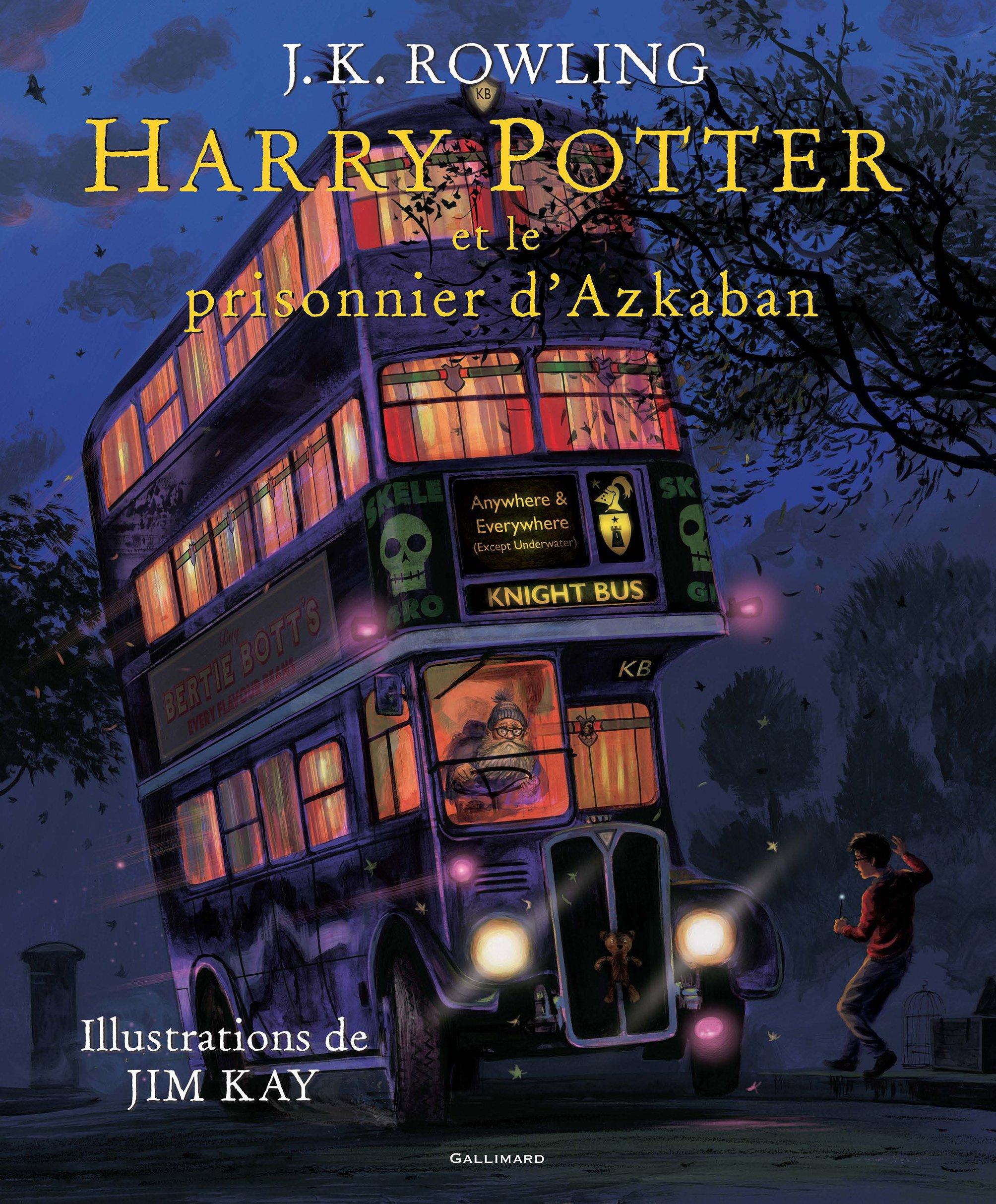 Harry Potter, III:Harry Potter et le prisonnier d'Azkaban (Anglais) Relié – 12 octobre 2017 J. K. Rowling Jim Kay Jean-François Ménard Gallimard Jeunesse