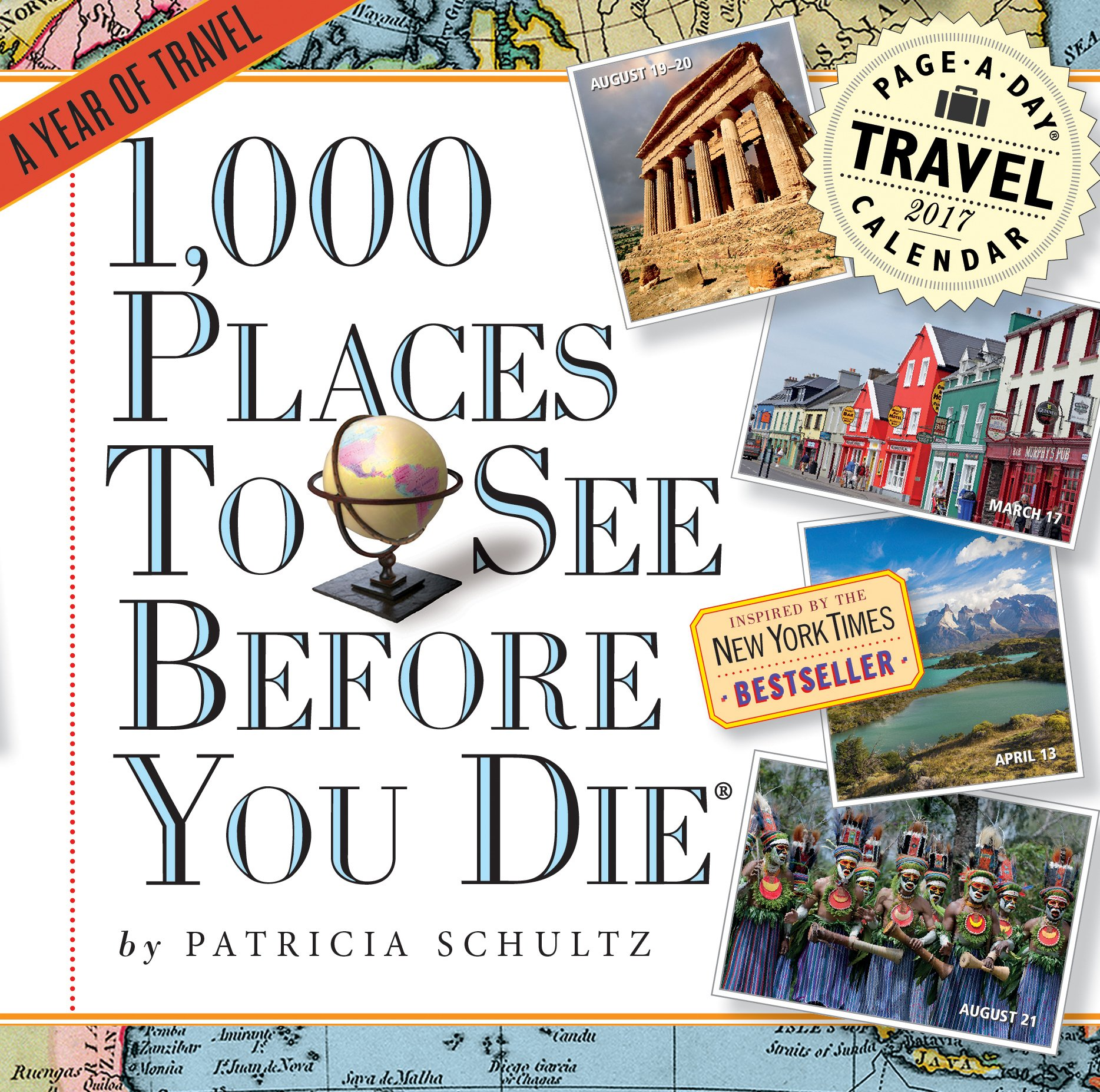 1, 000 Places to See Before You Die Page-A-Day Calendar 2017: Patricia  Schultz: 9780761188759: Amazon.com: Books