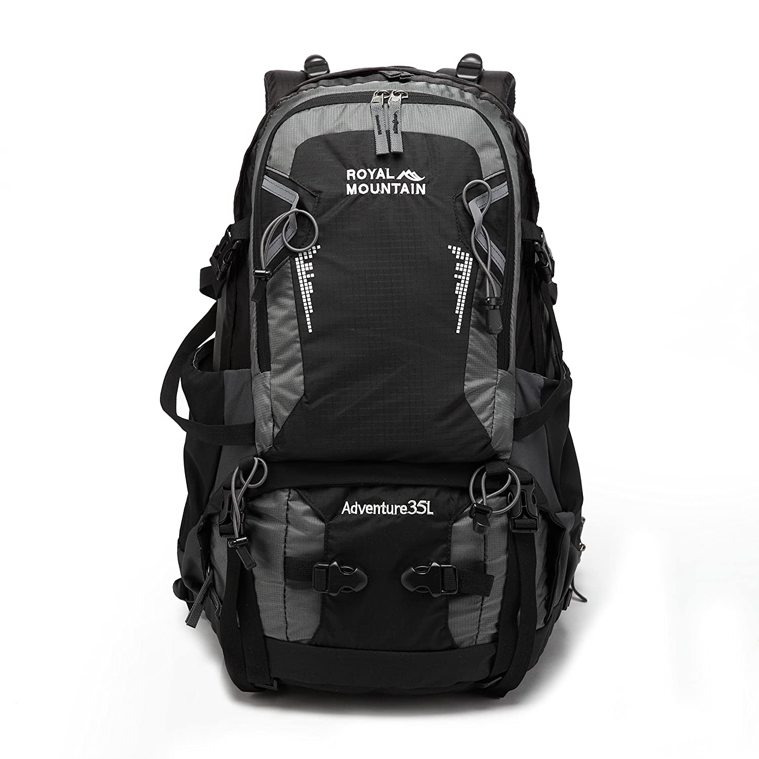 70%OFF ROYAL MOUNTAIN Hiking Backpack Waterproof Outdoor Sport Daypack with Rain Cover (35L)