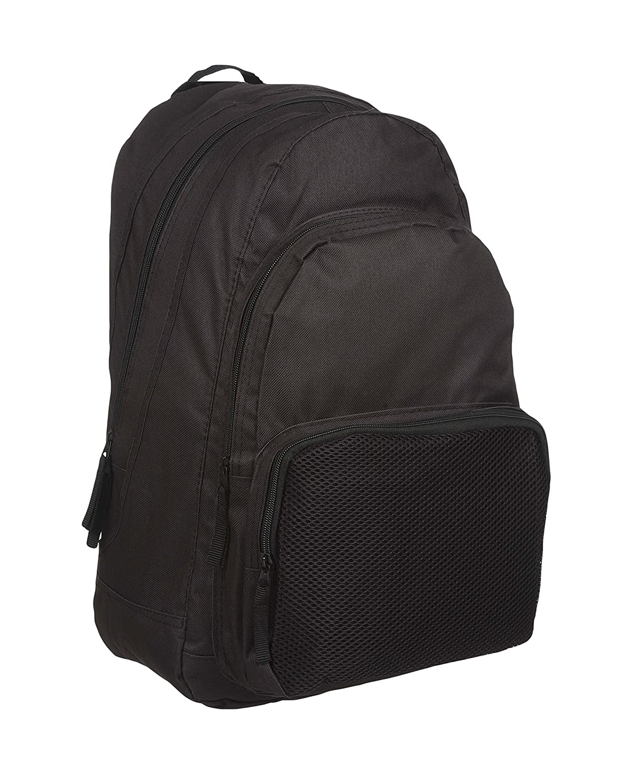 MIG - Mud Ice Gravel Mens Large Plain Backpack Rucksack Bag SPORTS HIKING  SCHOOL WORK (Black)  Amazon.co.uk  Sports   Outdoors 4a7230fa2c4ea