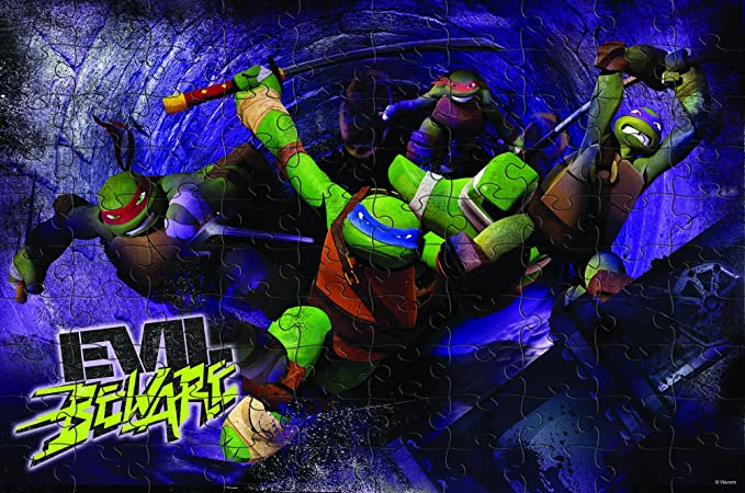 Amazon.com: Nickelodeon Cardinal Teenage Mutant Ninja ...