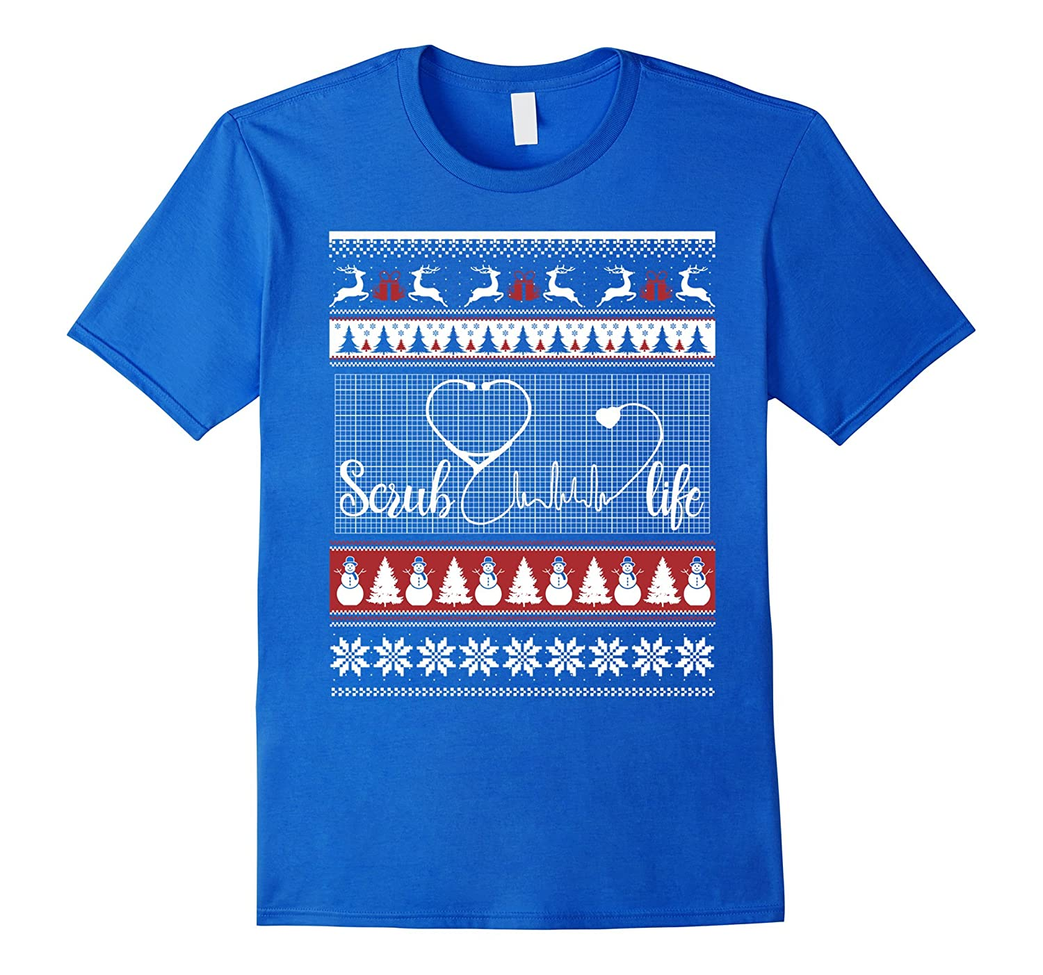 Ugly Christmas Sweater Nurse Doctor Medical Assistants Shirt ...