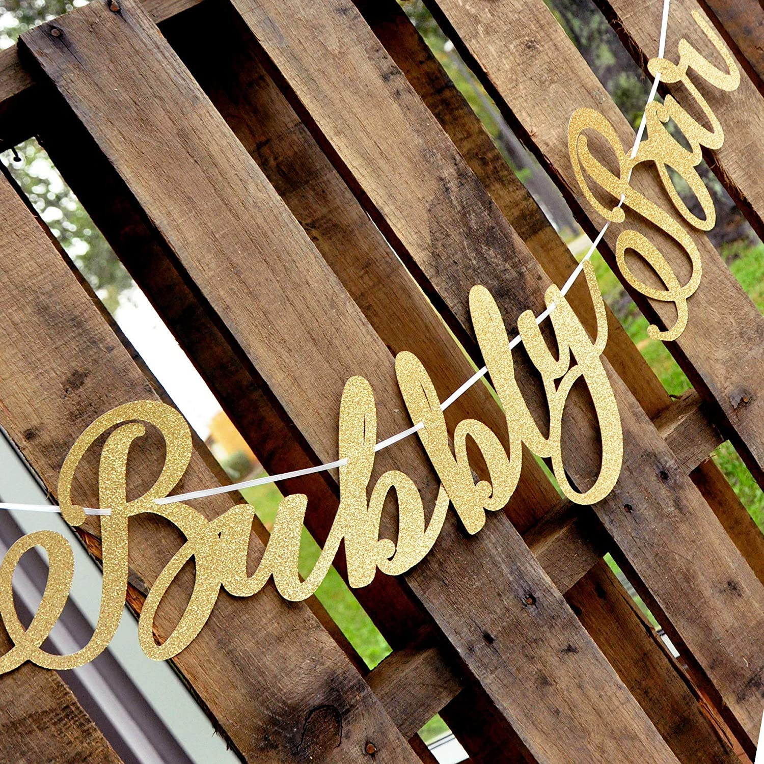 Bubbly Bar Sign Bubbly Bar Banner Drinks Sign.