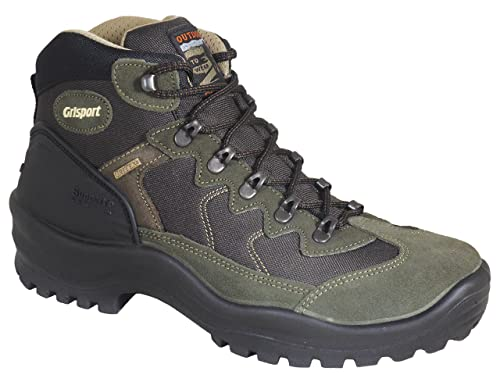 6f9eb3c6d2f Grisport Mens Country Walker Ultra Lightweight Quality Walking Boots Olive