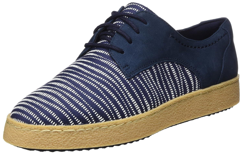 Clarks Lillia Lola, Zapatillas para Mujer 39.5 EU|Azul (Navy Combi)